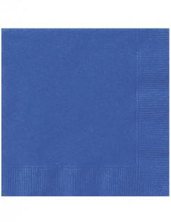Papierservietten 20 Stück blau 33 x 33 cm