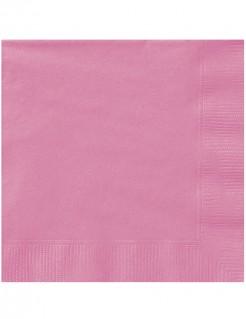 Papierservietten Party-Tischdeko 20 Stück rosa 33 x 33cm