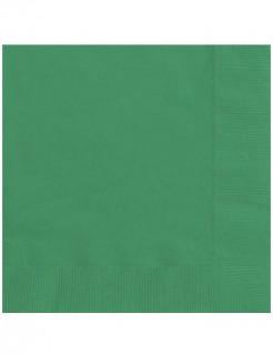 Papierservietten 20 Stück grün