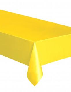 Einweg-Tischdecke gelb 137x274cm