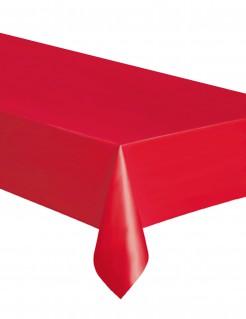 Einweg-Tischdecke rot 137x274cm