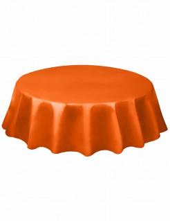 Halloween Tischdecke rundorange 213 cm Durchmesser