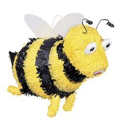 Bienen-Piñata Kindergeburtstags-Partydeko schwarz-gelb