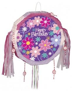 Happy Birthday-Piñata Geburtstags-Partydeko bunt