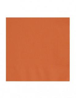 Servietten Set Papierservietten 50 Stück orange 34x34cm