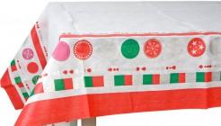 Weihnachts-Tischdecke 140x240cm