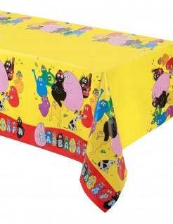 Barbapapa-Tischdecke Party-Tischdeko Lizenzware gelb-bunt 130x180cm