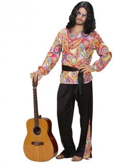 Herrenkostüm Hippie bunt