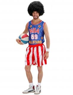 Basketball-Spieler Kostüm Sportler bunt