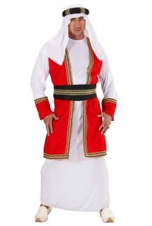 Arabischer Scheich Kostüm für Herren bunt