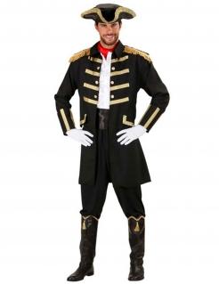 Piratenkapitän - Herrenkostüm schwarz