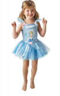 Cinderella Ballerina Kinderkostüm Märchen blau