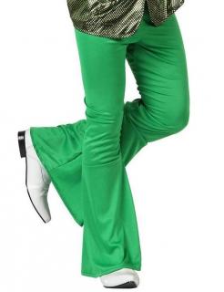 70er Jahre Disco Schlaghose für Herren grün