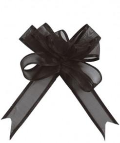 Geschenke Schleifen-Set 5 Stück schwarz