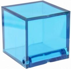 Dekowürfel 4 Stück blau