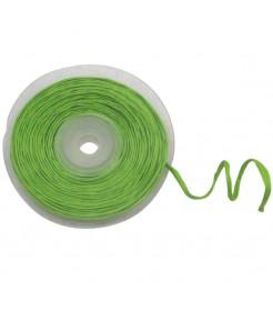 Geschenkband mit Draht Deko-Accessoire grün 10m