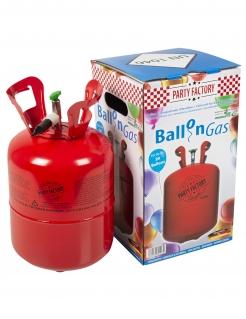 Helium-Flasche 250 l für 21-50 Latex-Luftballons grün