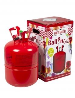Heliumflasche Luftballonzubehör grün-schwarz-silber 400 l