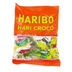 Haribo Krokodile Süssigkeiten 120g