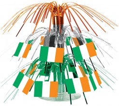 Tischdeko Fanartikel Irland grün-weiss-orange 30cm