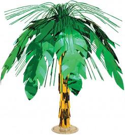 Tischdeko Hawaii Palme grün-braun 46cm