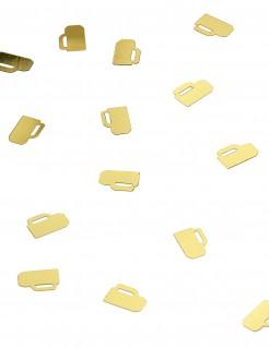 Tischdeko Bierkrug Konfetti gold 28,3g