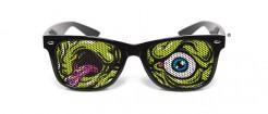 Lustige Zombie-Brille