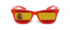 Sonnenbrille Spanien rot-gelb