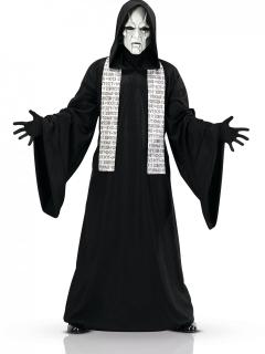 Geister-Priesterkostüm Halloween schwarz-weiss