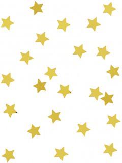 Stern-Konfetti Glänzende Sterne gold 14g