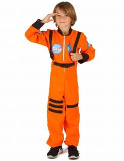 Astronaut Kostüm für Jungen rot-schwarz