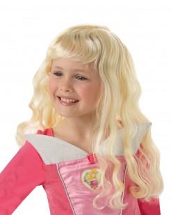Dornröschen Lizenz-Perücke für Mädchen blond