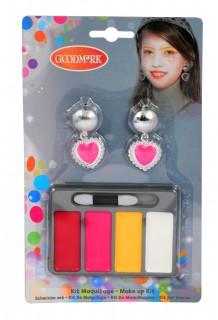 Make-Up Set Prinzessin Schminkset 6-teilig bunt