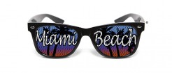 Lustige Miami-Brille