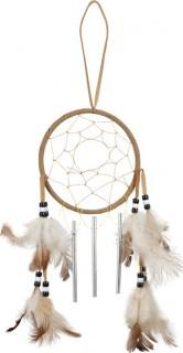 Indianer Traumfänger Party-Deko Wilder Westen braun-beige 10,5cm