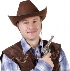 Western Cowboyhut für Erwachsene braun