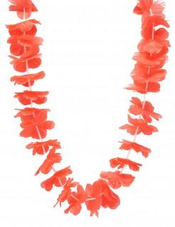 Hawaii Blumenkette Kostüm-Accessoire rot