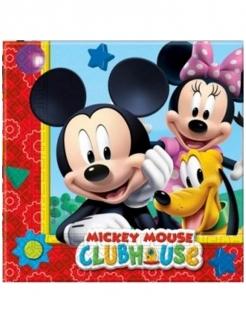 20 Papierservietten Mickey Mouse™ 33 x 33 cm bunt