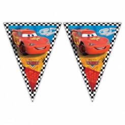 Cars-Girlande Disney-Wimpelgirlande Cars RSN Lizenzartikel bunt 3m