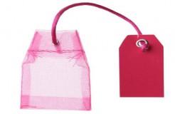 Teebeutel-Behälter 4 Stück rosa