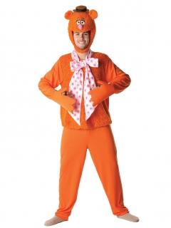 Fozzie Bär™-Kostüm Muppet Show™ orange-rosa