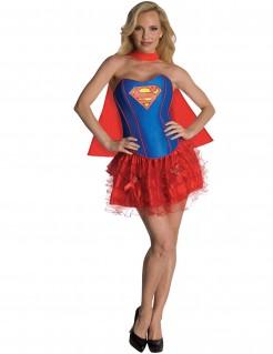 Justice League Supergirl Superheldin Damenkostüm Lizenzware