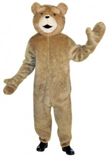 Ted-Erwachsenenkostüm Teddy braun