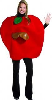 Apfel mit Wurm Kostüm