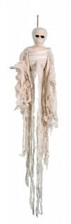 Horror-Mumie Halloween Party-Hängedeko creme 100cm
