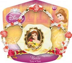 Disney Belle-Krone Mädchen rot-gelb