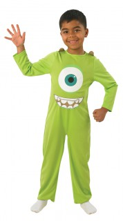 Bob-Kinderkostüm Die Monster Uni Lizenzkostüm grün-weiss