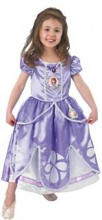Sofia Disney Deluxe Kinderkostüm Prinzessin Lizenzware flieder