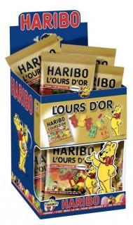 Mini Tüte Bonbons - Haribo Goldbären bunt 40g