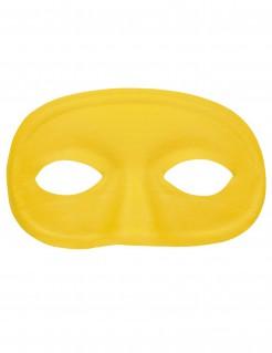 Venezianische Augen-Maske gelb